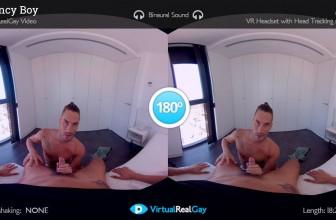 Escort Gay VR Porn Movie