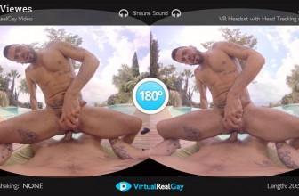 Fuck Tough Guy Gay VR Porn
